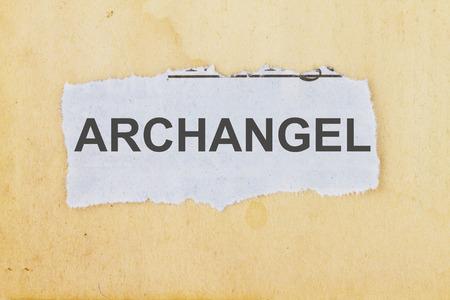 Archangel Zdjęcie Seryjne