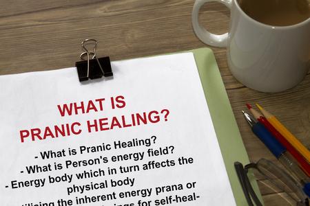 prana: Study and science of pranic healing seminar