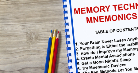 Memory technique improvement- seminar on how to improve memory. Banco de Imagens