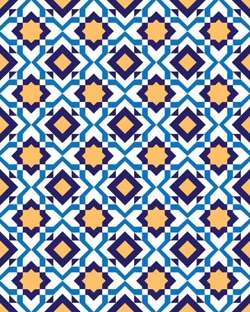 Art Deco Traditional pattern like on floor- vector