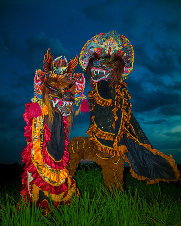 Chinese traditions also exist in Indonesia with the name Lion Barong dance