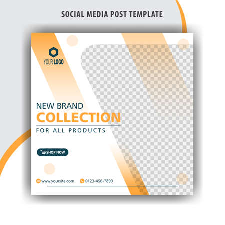 New brand collection banner templates for social media