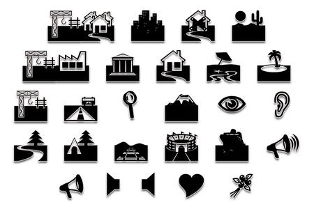 locations: Symbolic locations  Stock Photo