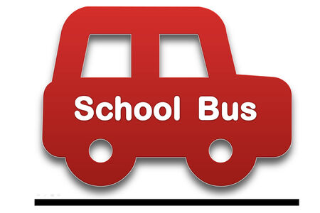 presage: picture show symbol of school bus it use for transfer student Stock Photo