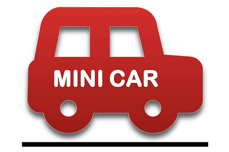 presage: picture show symbol of The Mini is a small economy car