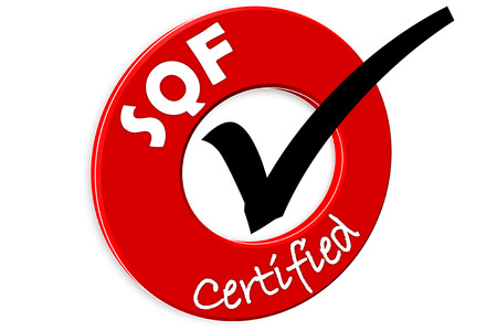 The images symbol have been food sqf certified