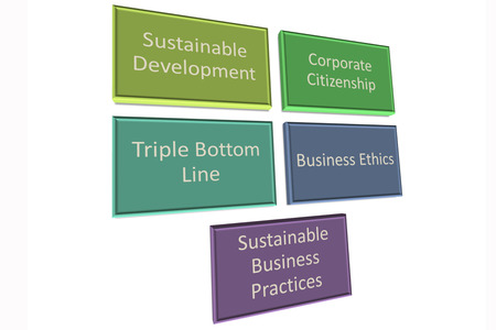 Picture style 1 of CSR also known as business improvement  photo