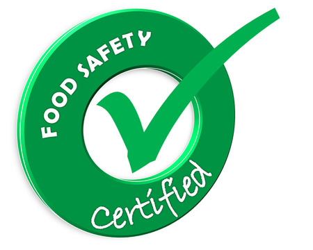 The images symbol have been food SAFETY certified