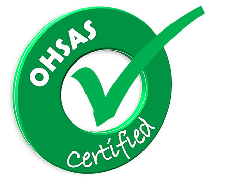 The images symbol have been OHSAS certified