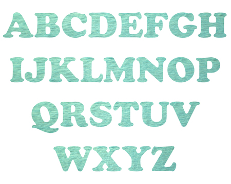 color full and vintage background of alphabet style 19 photo
