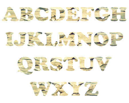 color full and vintage background of alphabet style 64 photo