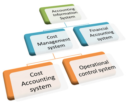 Subsystems of the Accounting Information System diagram photo