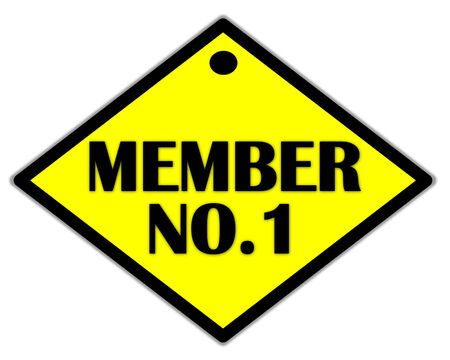 the yellow label of member no.1 photo