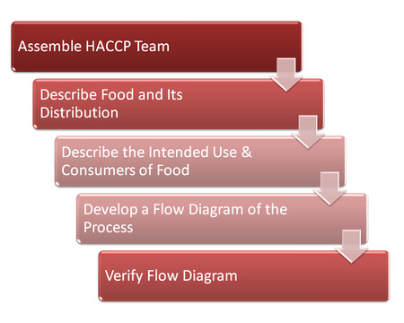 distributing: the picture is show the haccp use in food industry style