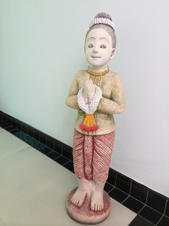doll: Thai man doll for welcome