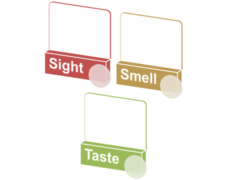 unsafe:  spot unsafe food by using your  senses   Stock Photo