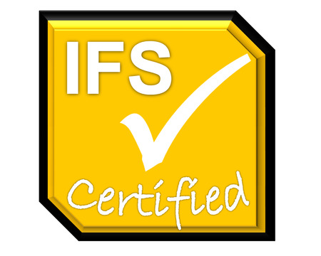 the symbol of accreditation and certificate for IFS system