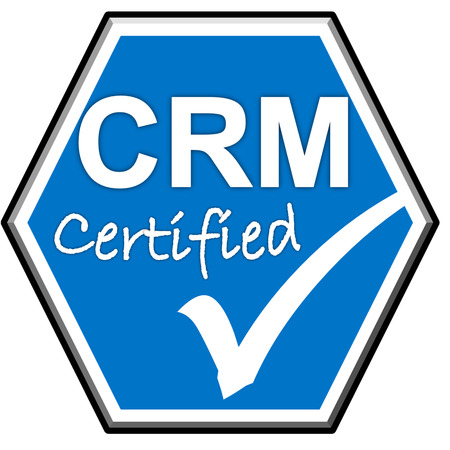 The Images Symbol Have Been Crm Certified Stock Photo Picture And