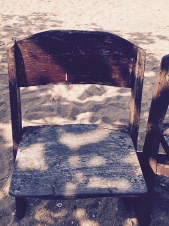 vintage chair: The old vintage chair