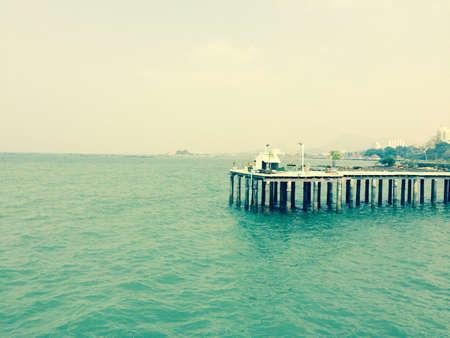 Old vintage seaview