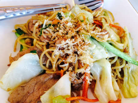 yakisoba: Yakisoba Japan food