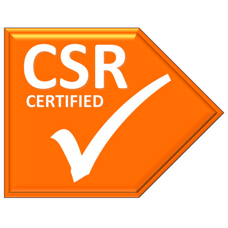 certified: The images symbol have been csr certified
