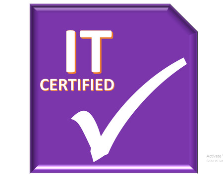 certified: The images symbol have been it certified