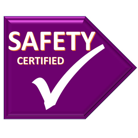 certified: The images symbol have been safety certified