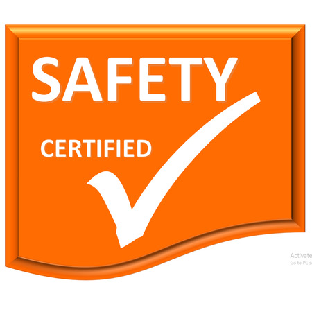 The images symbol have been safety certified
