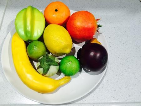 interior: Fruit show case decorate