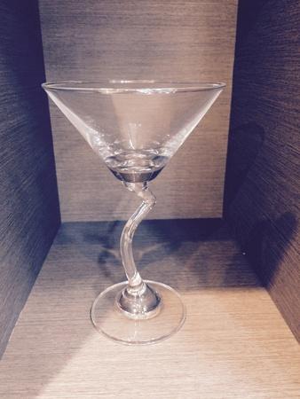 interior: Glass of wine
