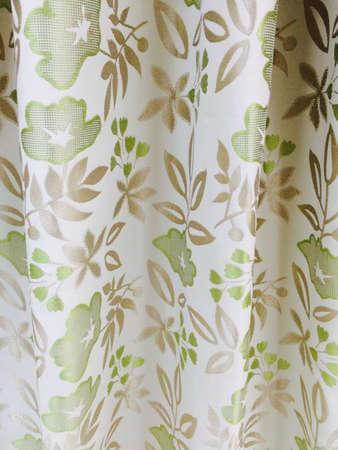 textile: Curtain textile background pattern Stock Photo