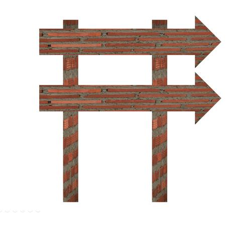 balanced budget: arrows street signs blank for input wording