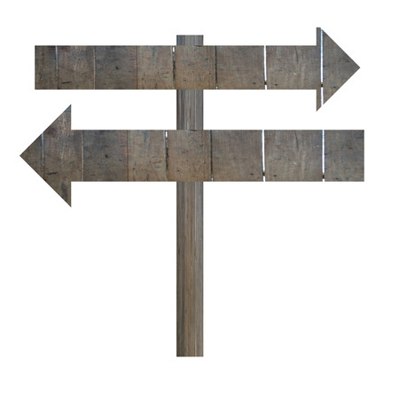 arrows street signs blank for input wording