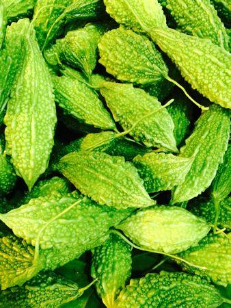 materiale: Verdure in mercato Archivio Fotografico