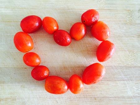 materiale: Pomodori rossi cibo materiale per cucinare