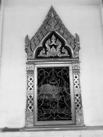buddah: Buddha temple window