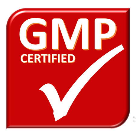 stock certificate: gmp certificate Stock Photo