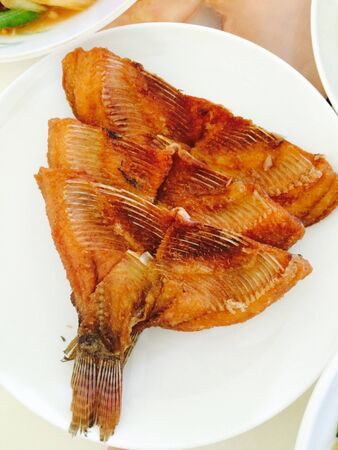 fish: Fish fried