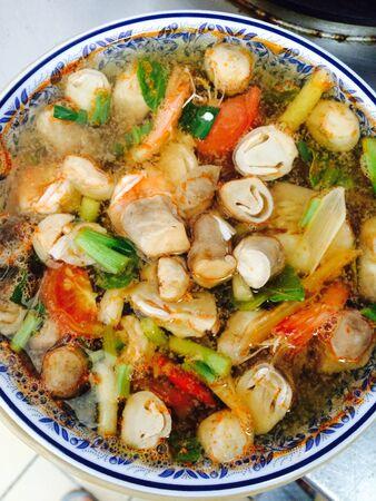 thai food: Thai food tomyum