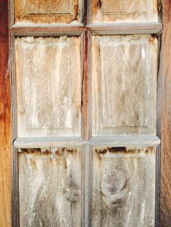 canvas: Vintage wood