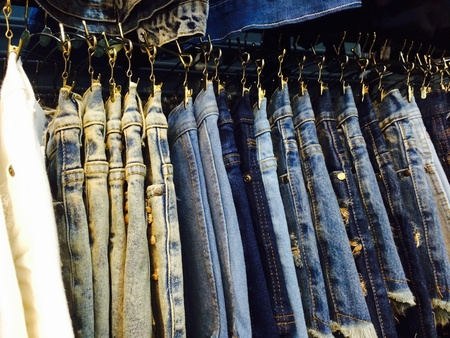 habiliment: jeans Fashion Clothing Stock Photo