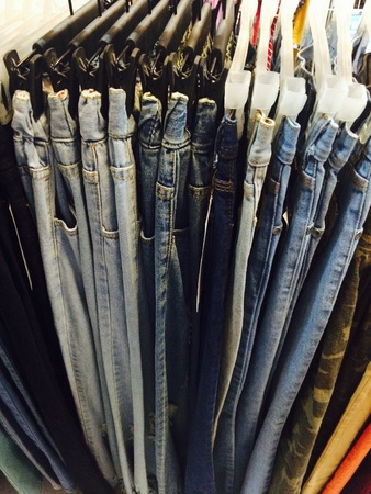 apparel: jeans Fashion Clothing Stock Photo