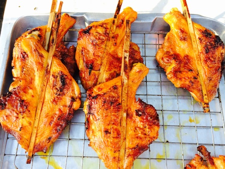 grill: chicken  grill