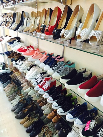 wear: Shoe Stores Stock Photo