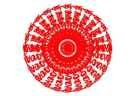 presage: art pattern background Stock Photo