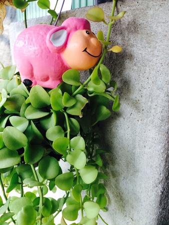 doll: Doll Garden Decor Stock Photo