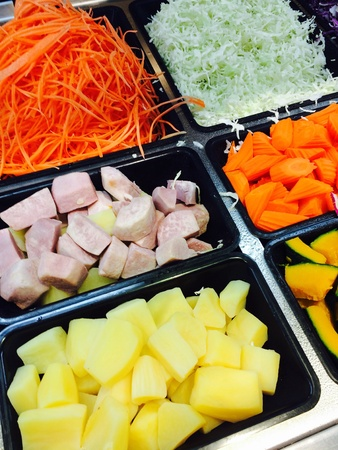 과일과 채소 샐러드