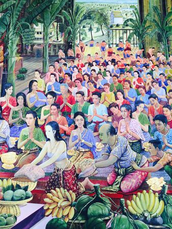 Thailändischer art