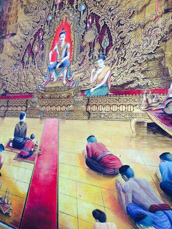 art: Thai art Stock Photo